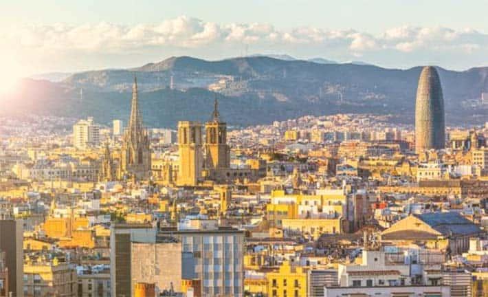 Barcelona ciudad de influencers